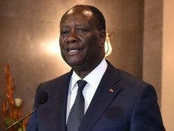 President Ouattara in Ghana
